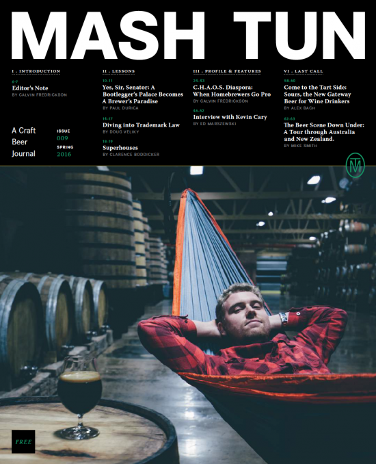 Image of Mash Tun Journal #9