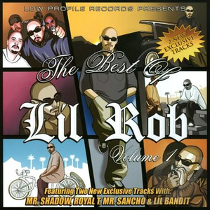 Image of Best of Lil Rob, Vol. 1 CD