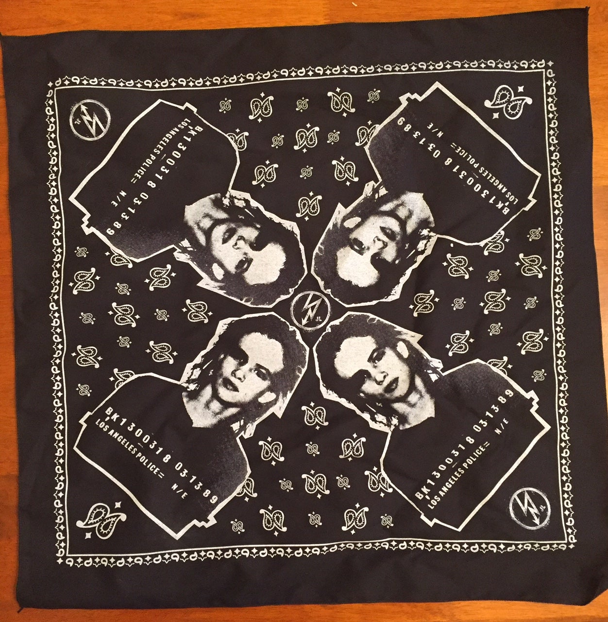 Image of Mug Shot bandana Four Corners.