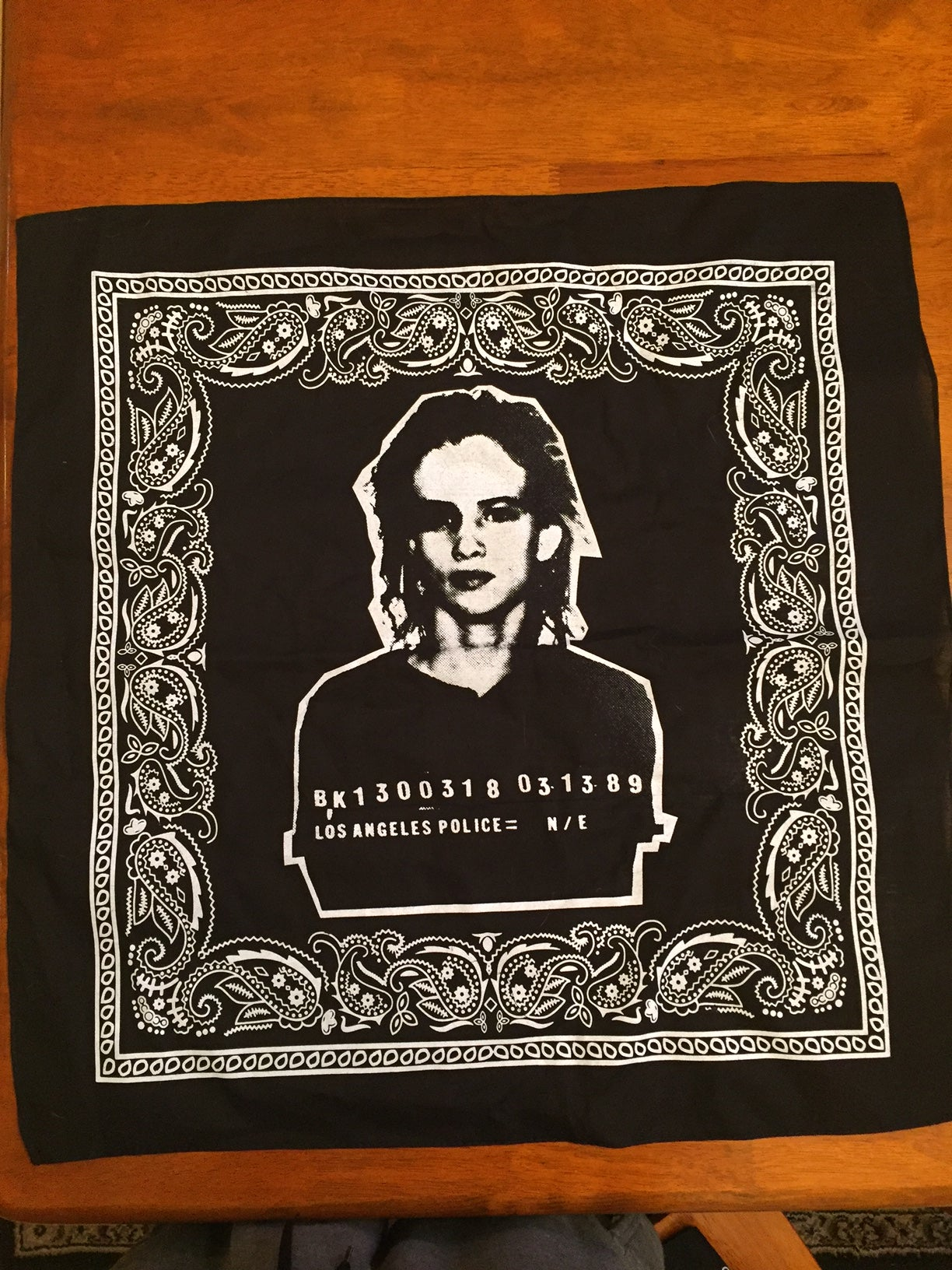 Image of Mug Shot bandana