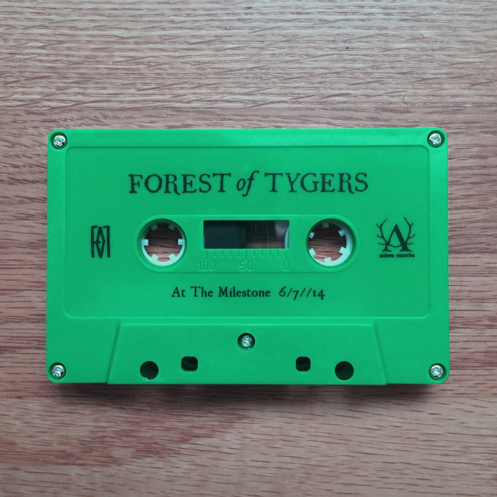 "Image of Forest Of Tygers - ""At The Milestone"" Live Cassette"