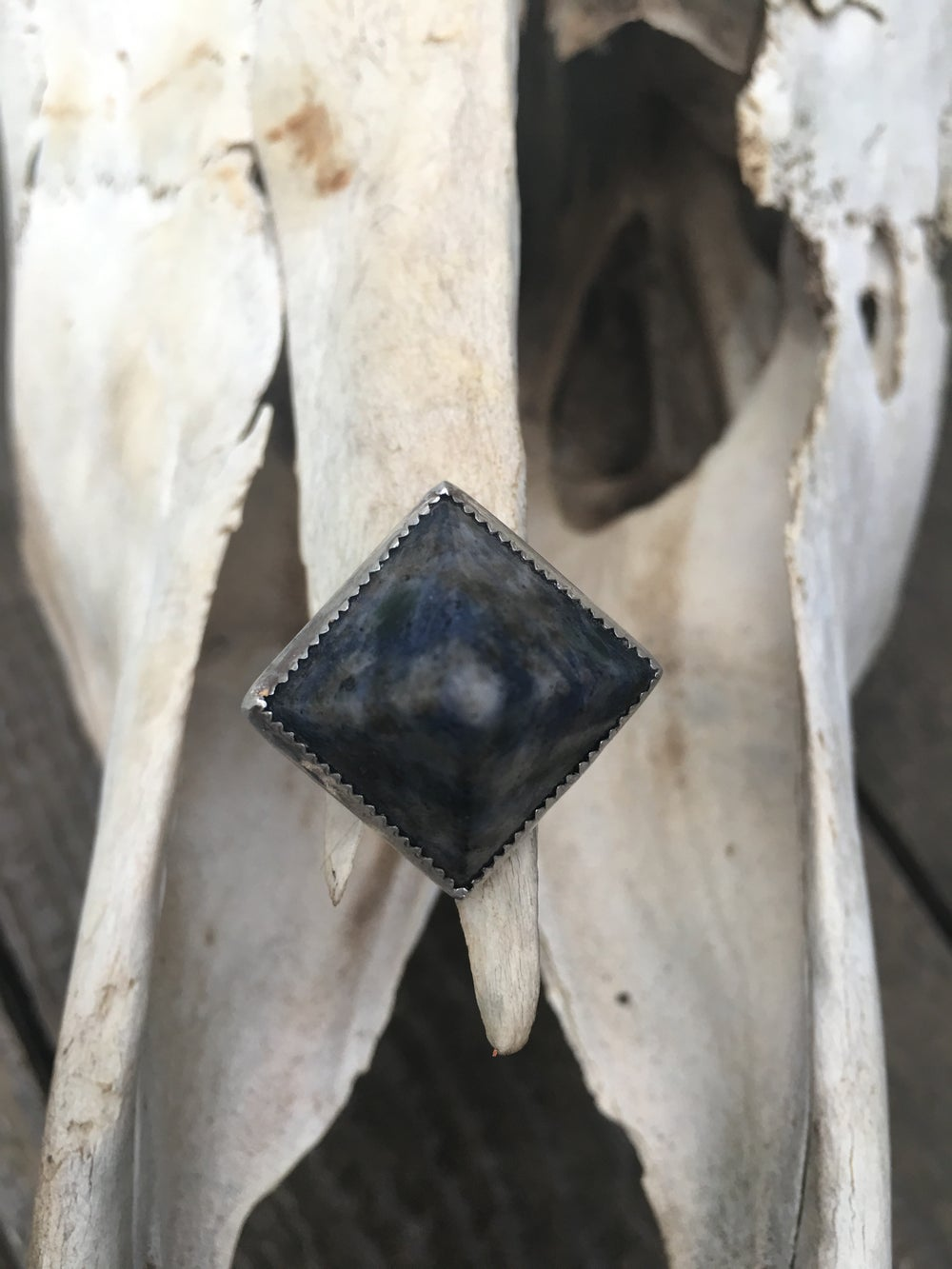 Image of SODALITE PYRAMID RING