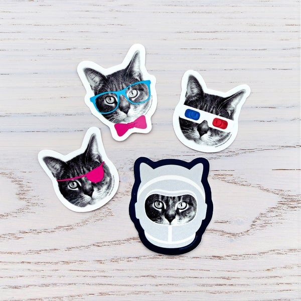 Image of gee whiskers stickers