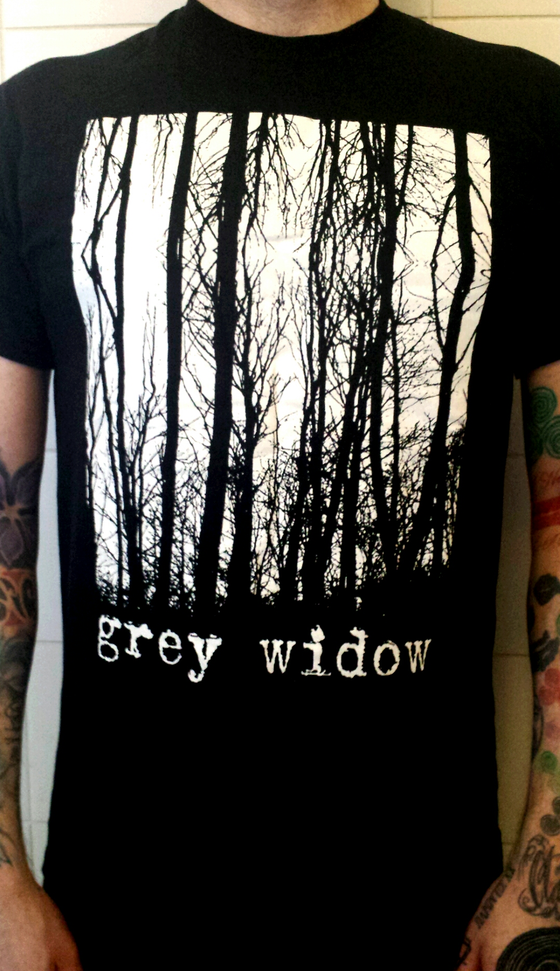 Image of Grey Widow Forest T Shirt