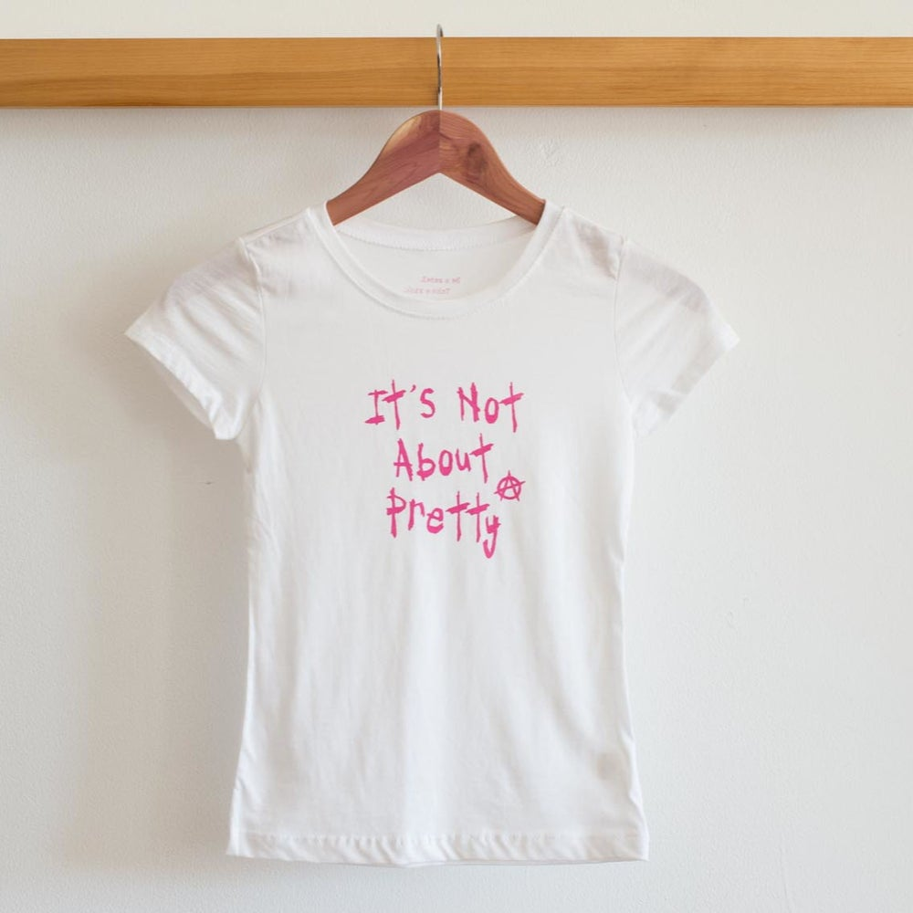 "Image of NEW!!!  Kids ""It's Not About Pretty"" Tee"