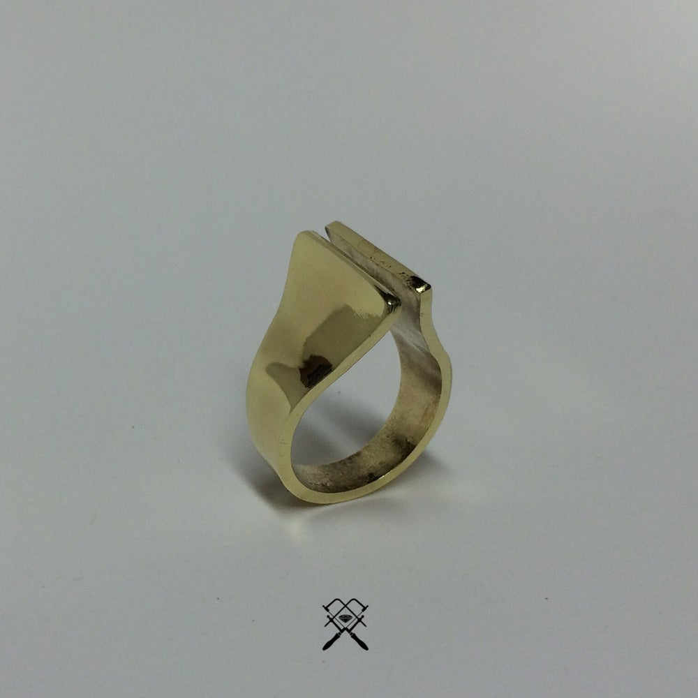 Image of Sacred 11 Brass Ring
