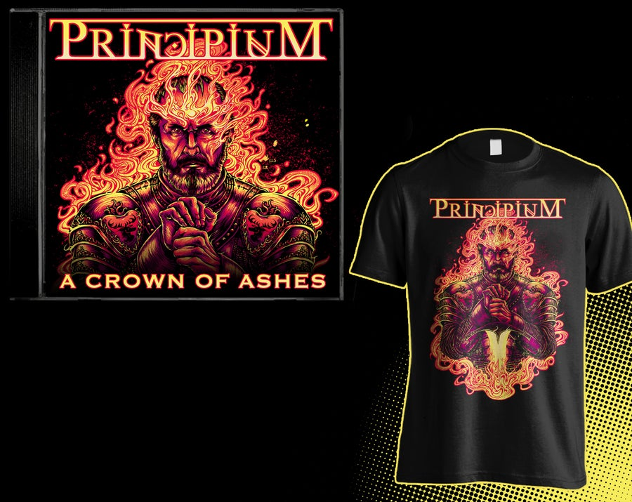 Image of 'A Crown of Ashes' Deluxe Package!