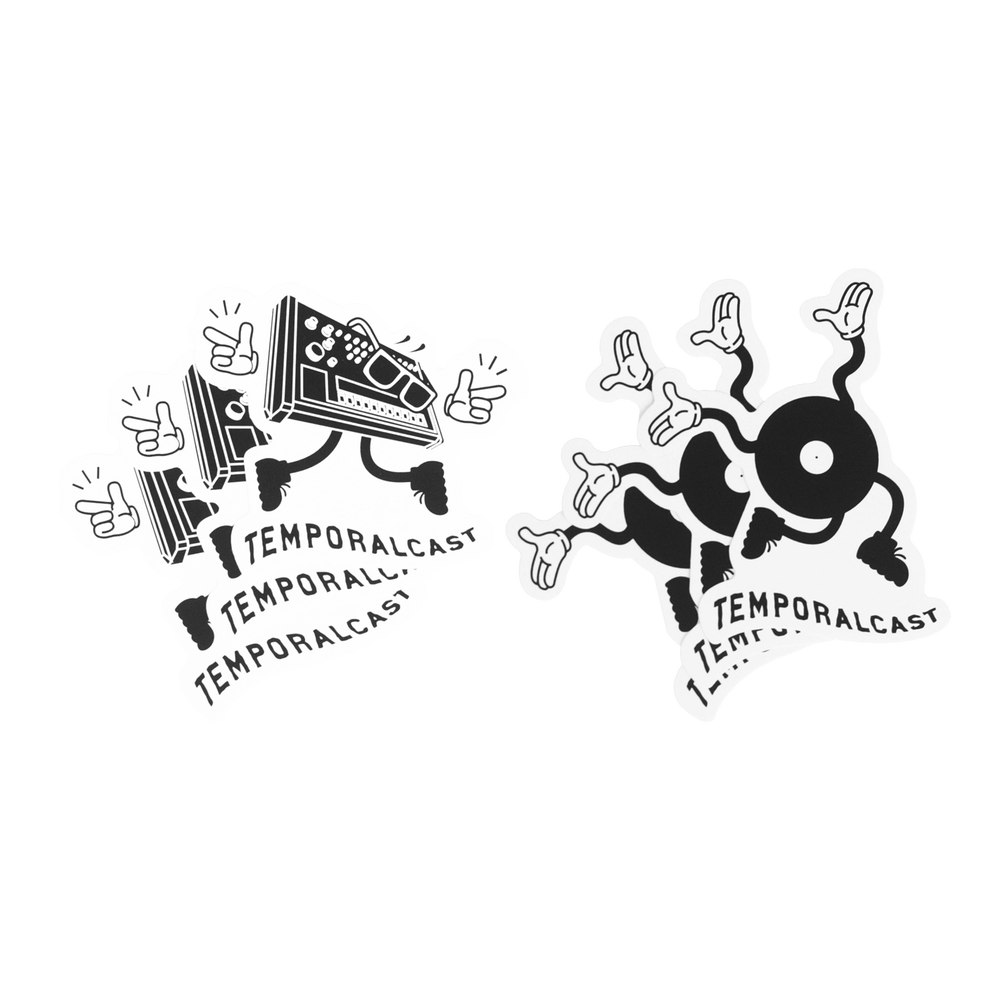 Image of TCST DIE CUT STICKERS