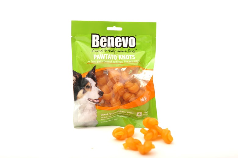 Image of Benevo pawtato knots Small og Large
