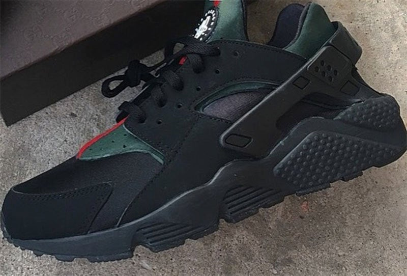 newest 2c6cb 4d341 Gucci x Nike huaraches