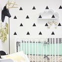 Little Triangles pack wall decal