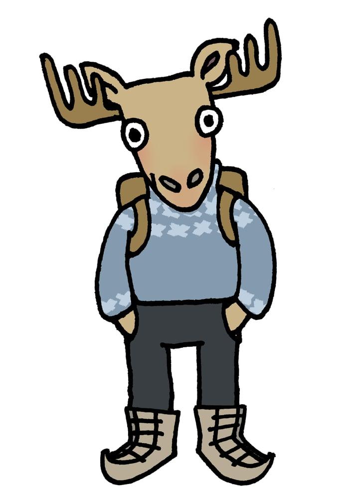 Image of Moose Poster