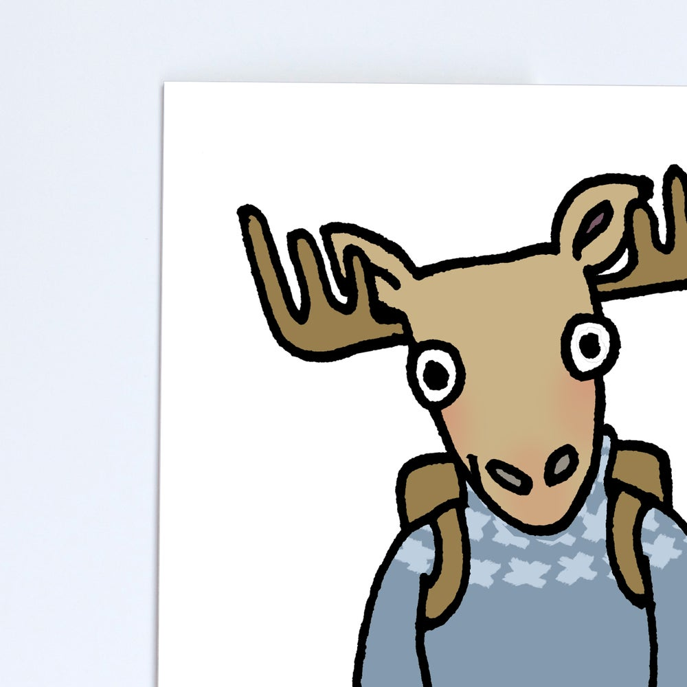 Image of Moose Poster