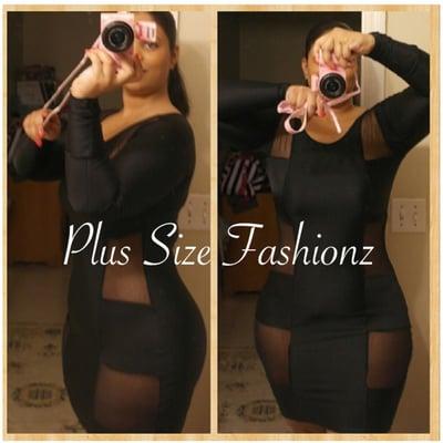 Black Body Trap - Plus Size Fashionz
