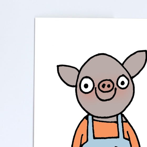 Image of Pig Poster