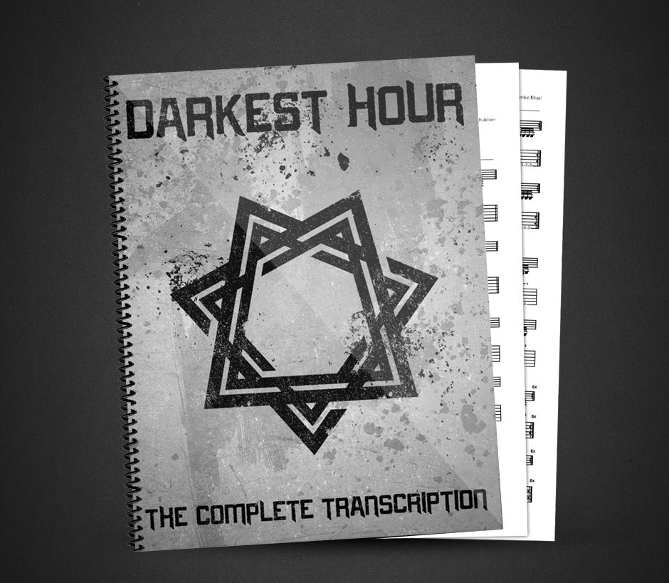 Image of Darkest Hour - Self Titled - The Complete Dgitial Transcription W/ PDF's