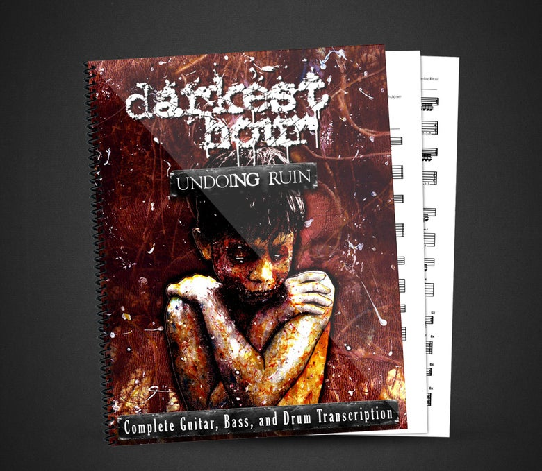 Image of Darkest Hour - Undoing Ruin - The Complete Digital Transcription W/ PDF's