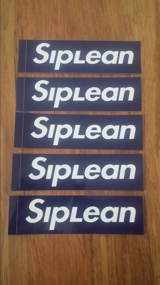 Image of Siplean Box Logo Sticker 5 pack