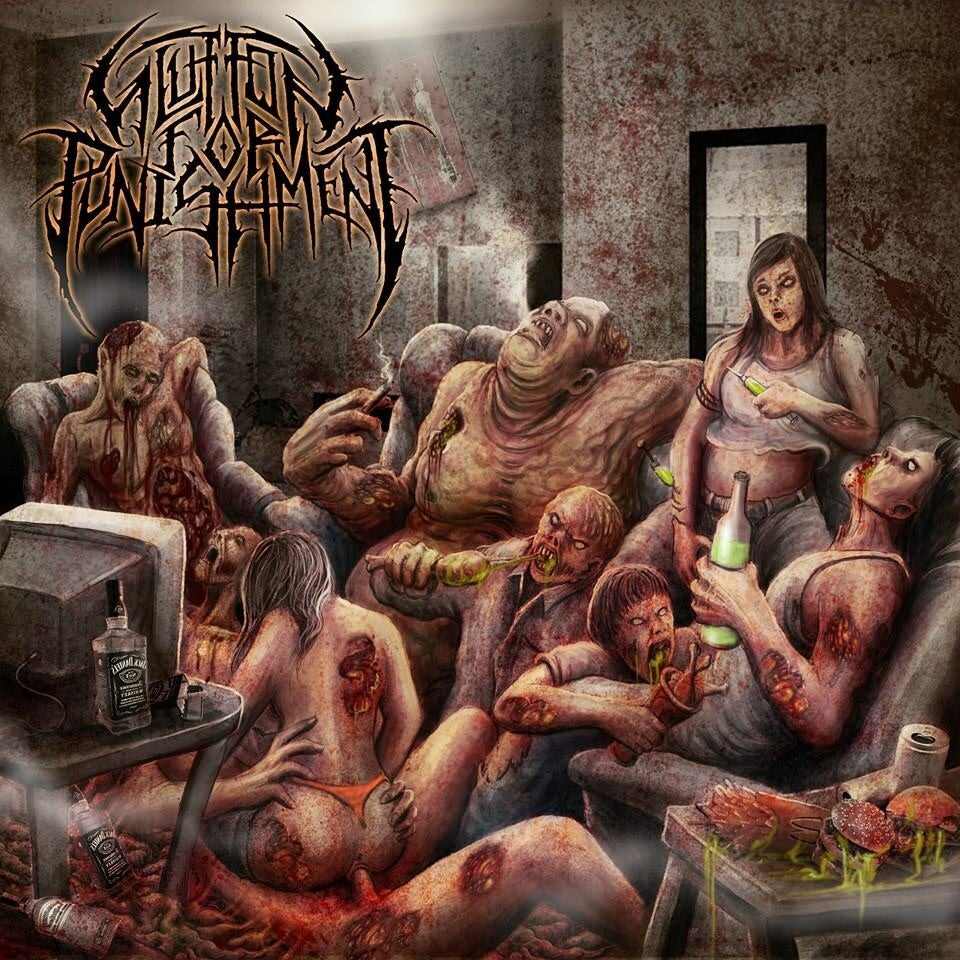 "Image of Glutton for Punishment ""Lying in Torment"""