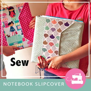 Image of Notebook Slipcover PDF Sewing Pattern