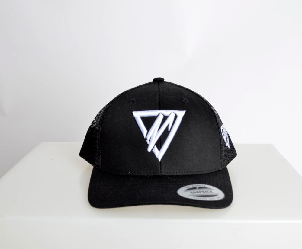 Image of Black Trucker Cap