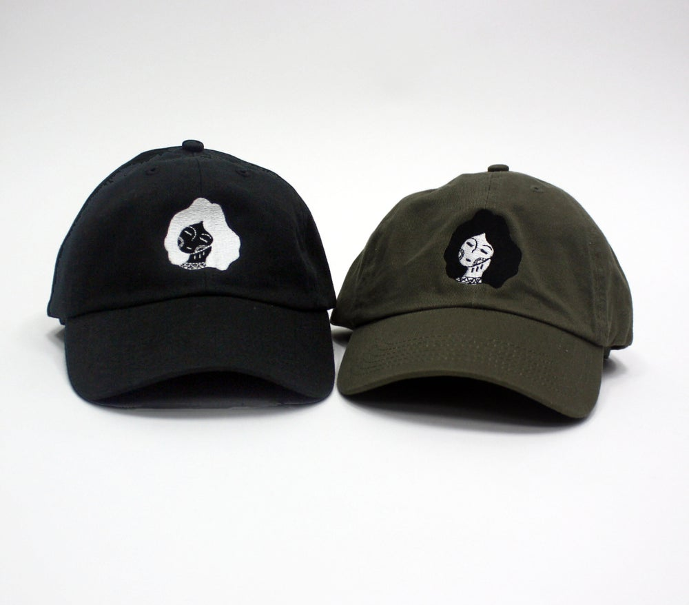 Image of 777 WOMEN CAP - BLACK OR OLIVE