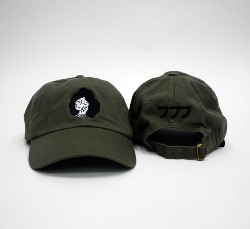 Image of 777 WOMEN CAP - BLACK OR OLIVE