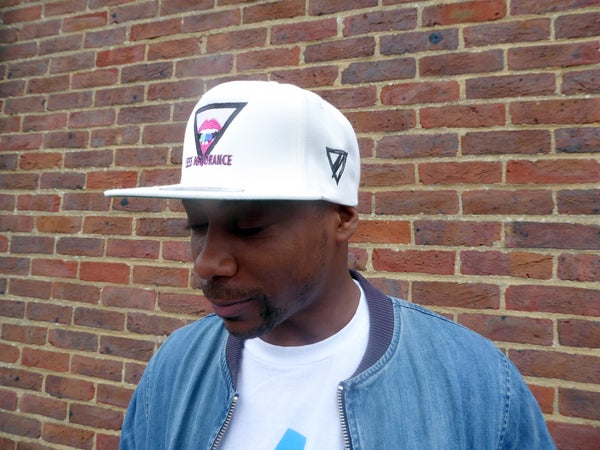 'Under The Influence' Snapback (Off White) - Moore Vigilance