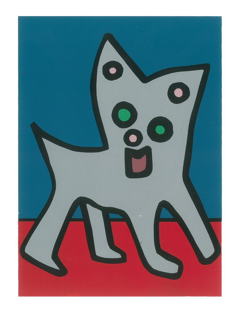 "Image of ""Chihuahua Cat"" (Silkscreen Print)"