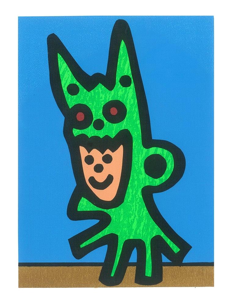 "Image of ""Boy Dragon"" (Silkscreen Print)"