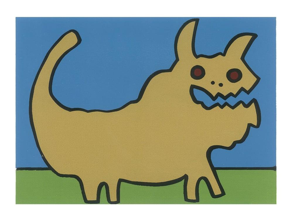 "Image of ""Golden Bull"" (Silkscreen Print)"