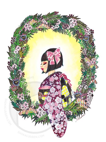 Image of Kimono Girl - Limited