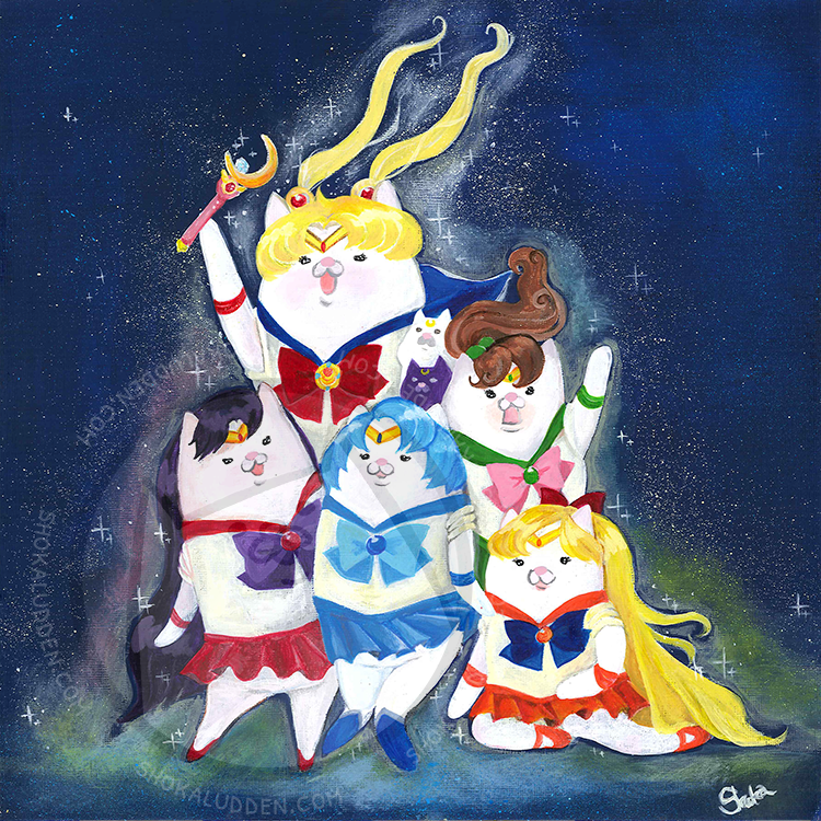 Image of Sailor Cats, Inner Cats