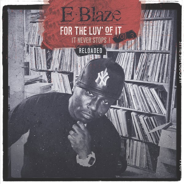 """Image of """"For the luv of it vol.3 reloaded"""" Clear vinyl"""