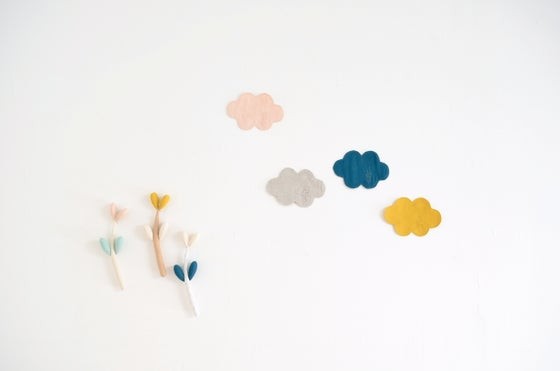 "Image of Thank you for ""nuageux, parfois la pluie"" cloud coaster!"