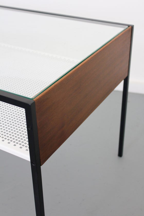 Image of Vintage Dutch Modernist Coffee table by Coen De Vries for Pilaster c1960