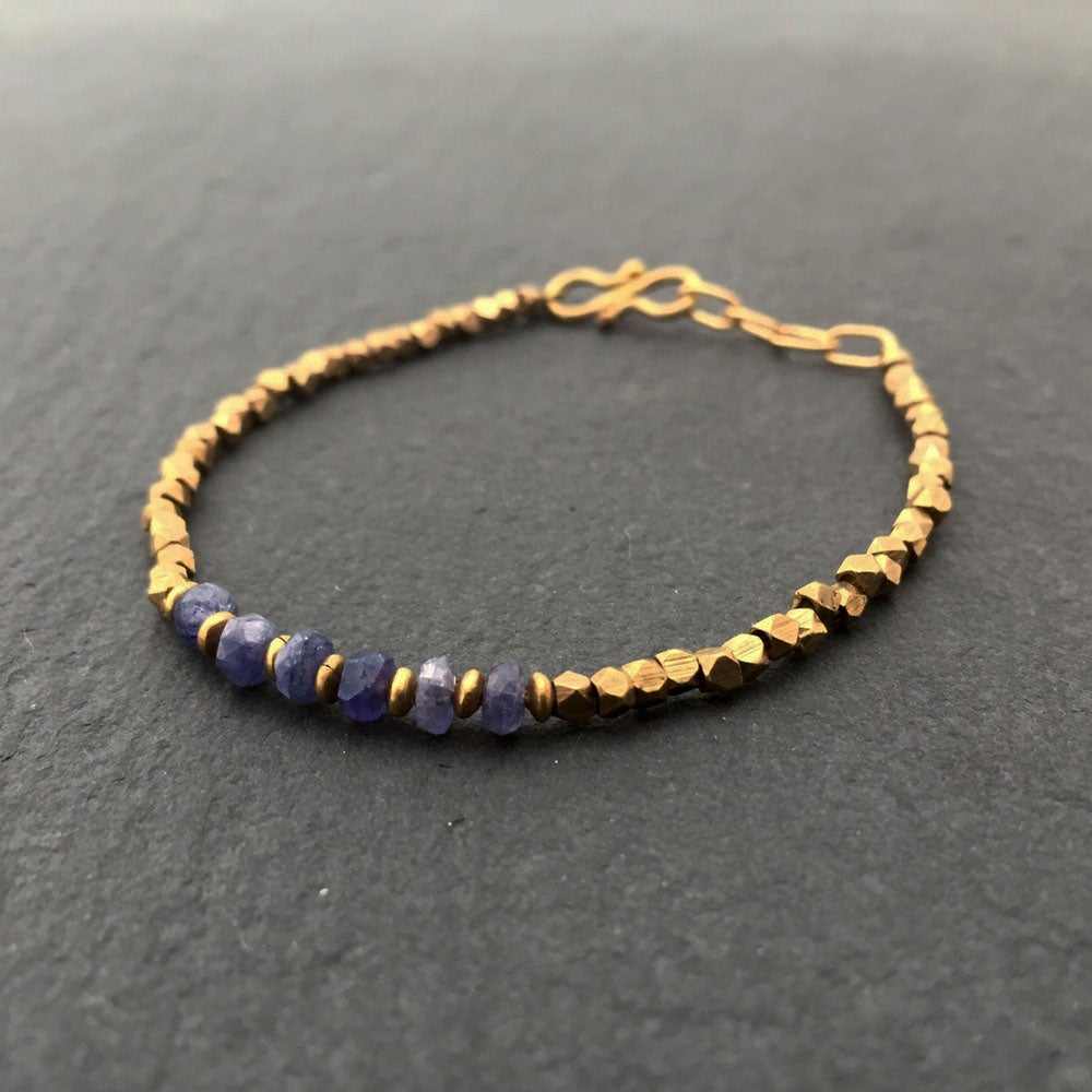 Image of Tanzenite bracelet