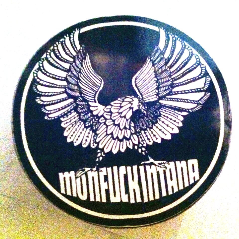 Image of NEW: Monfuckintana: Eagle Sticker