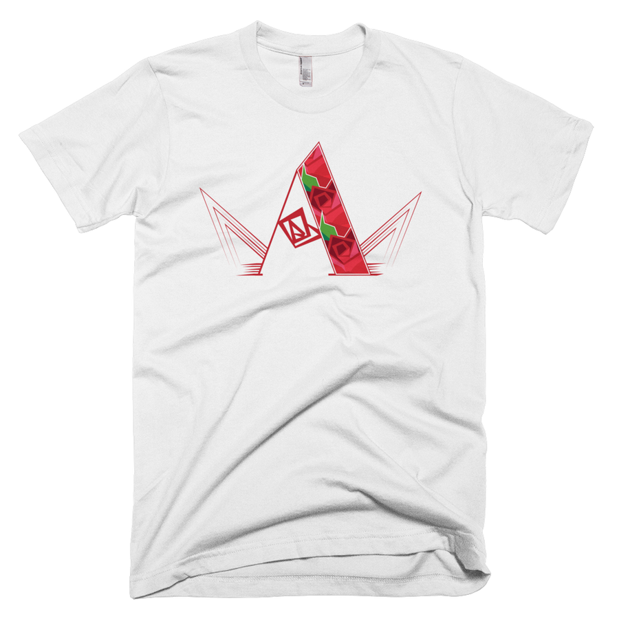 """Image of Art of a King """"Rose Logo"""" Graphic T-shirt."""