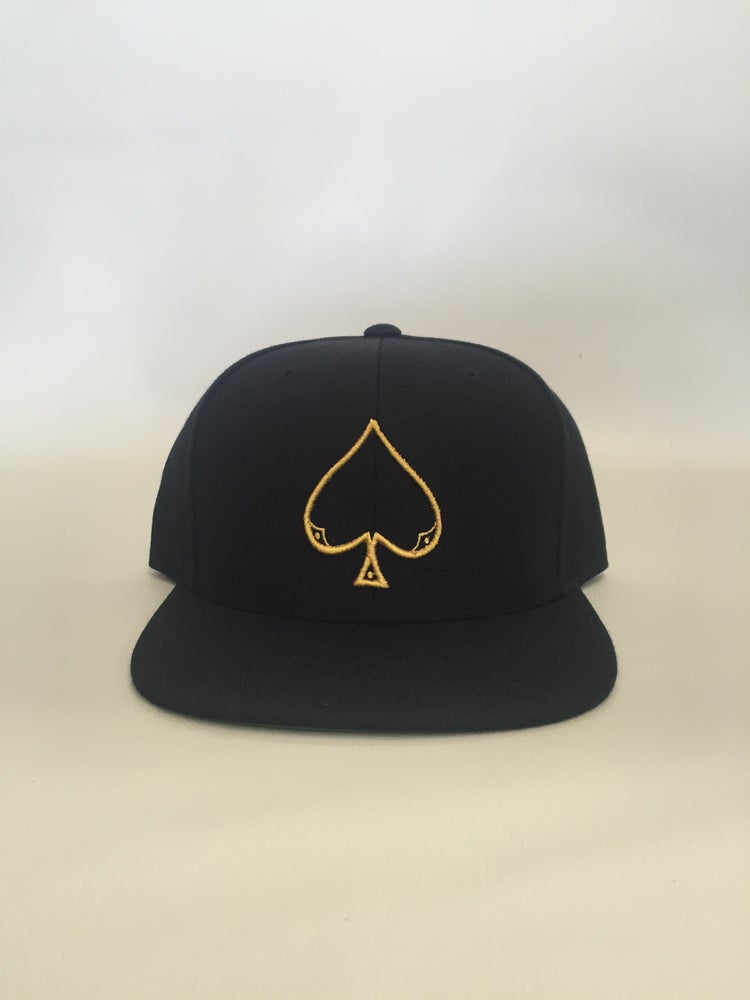Image of Gold Ace of spade snapback 2835fff92e7