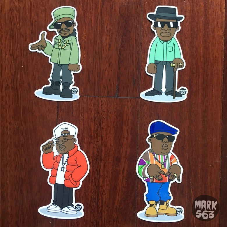 Image of Evolution Of The B-Boy Series 6 E-40, Kool G Rap, Scarface and The Notorious BIG