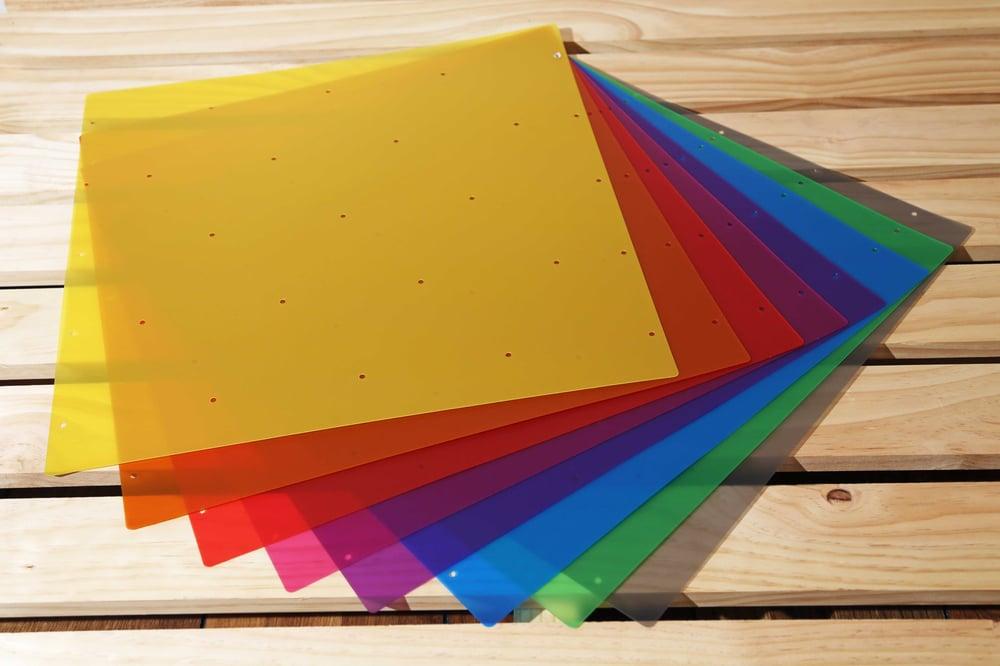 Image of Orbit Lamp - Colour Inserts 50cm