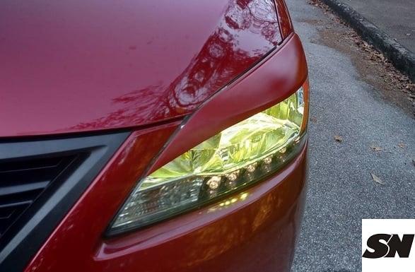 Image of (B17) Fiberglass Eye Lids (All trim 13-15 Sentra)