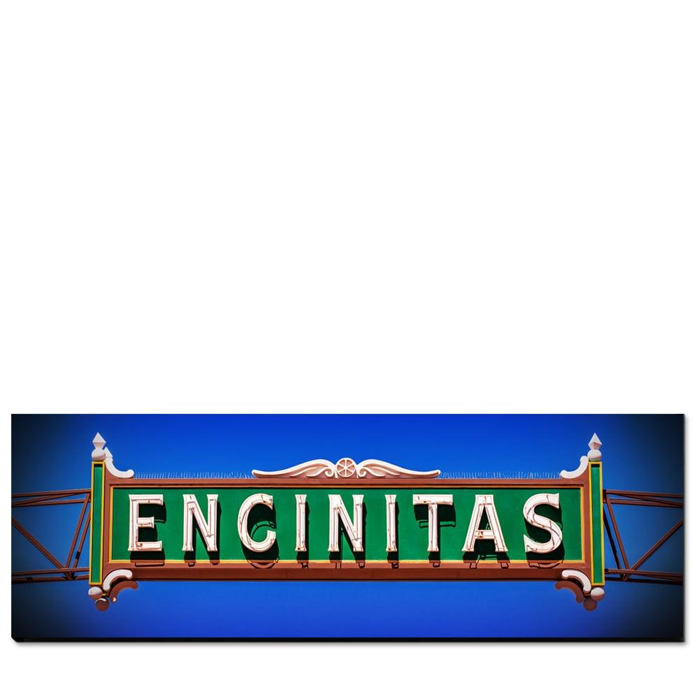 Image of ENCINITAS CALIFORNIA - (Metal or Canvas)