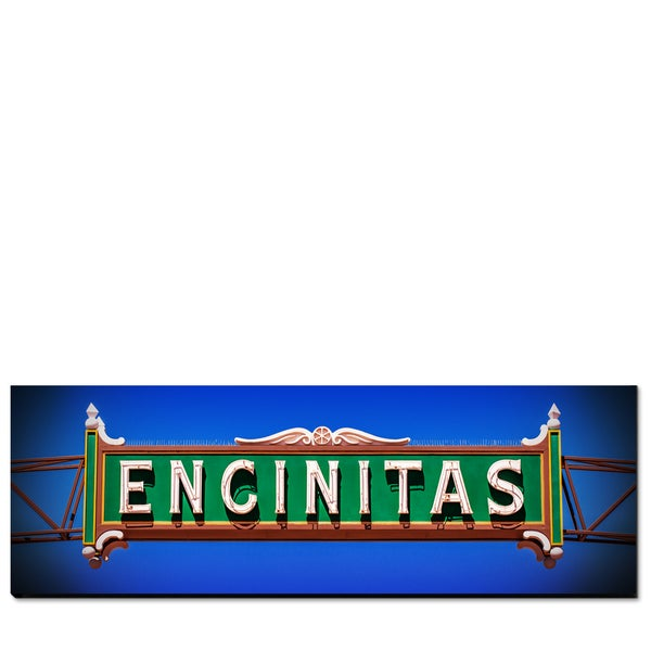 Image of ENCINITAS CALIFORNIA - (Metal or Canvas)