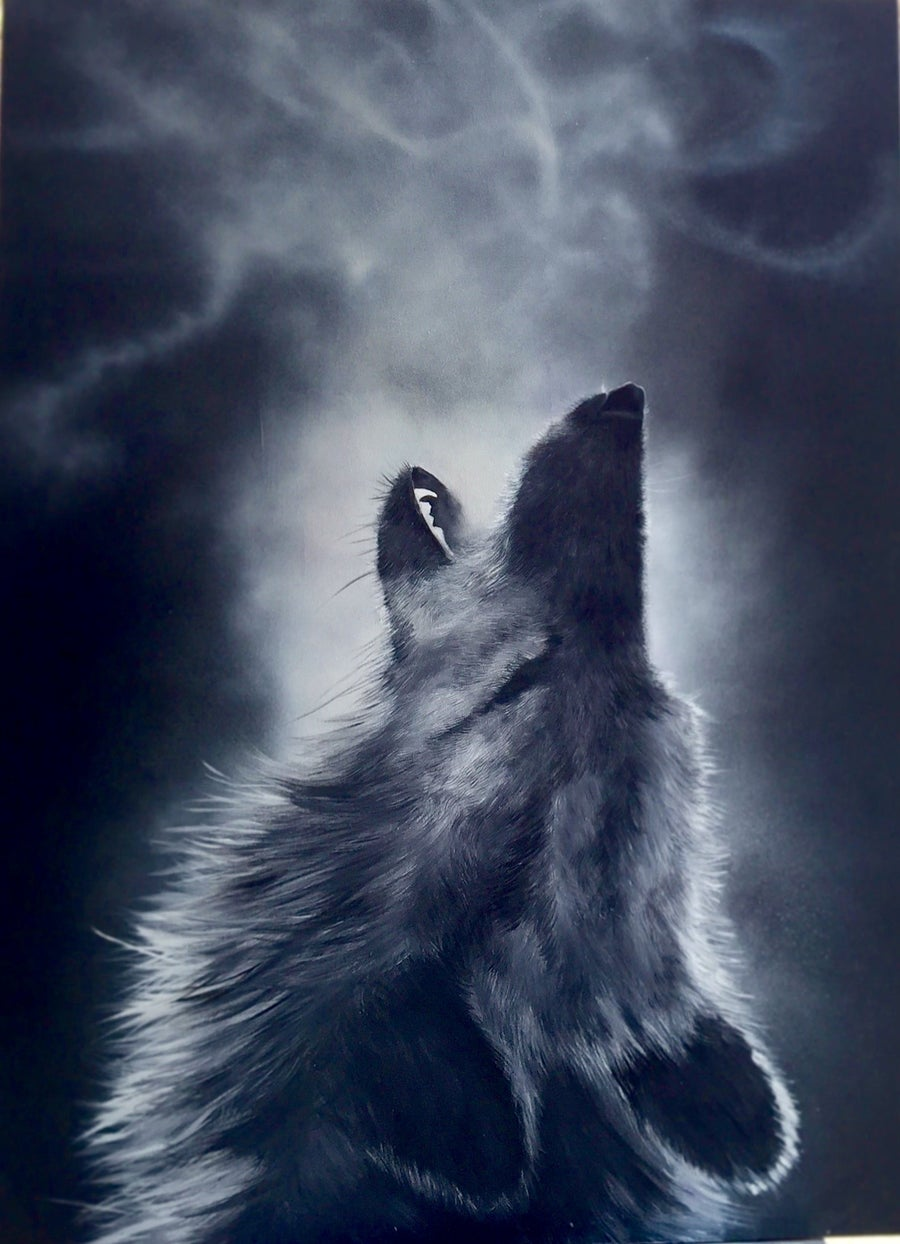 Image of howl at the moon