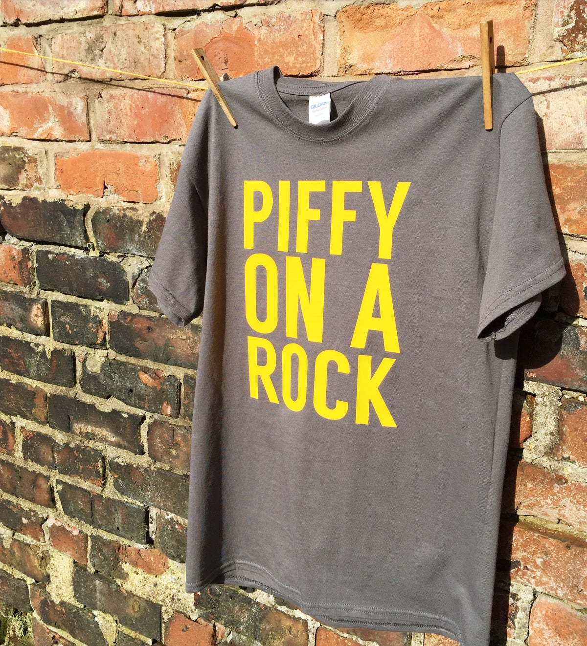 Image of Piffy On A Rock T-Shirt