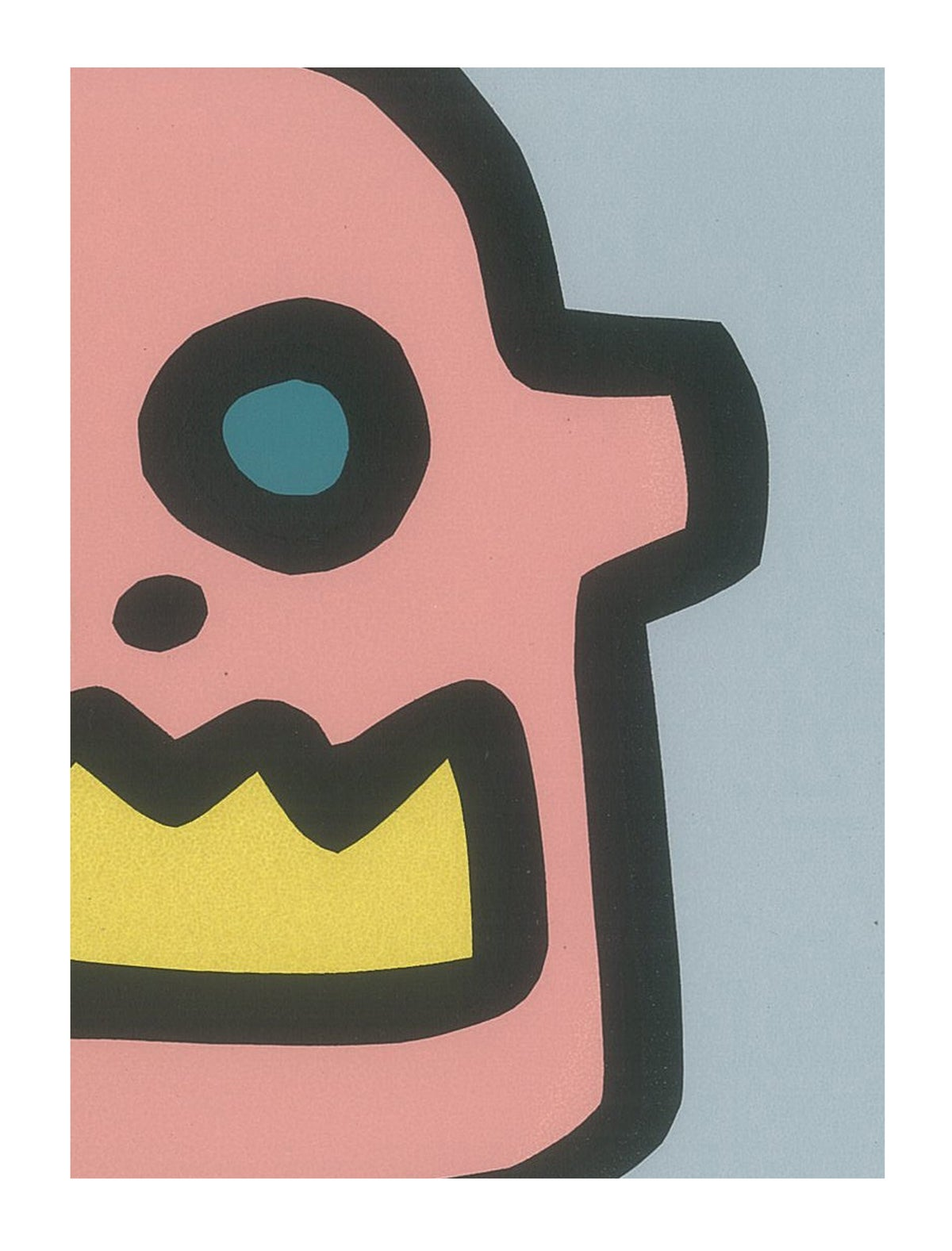 "Image of ""Head and Crown"" (Silkscreen Print)"