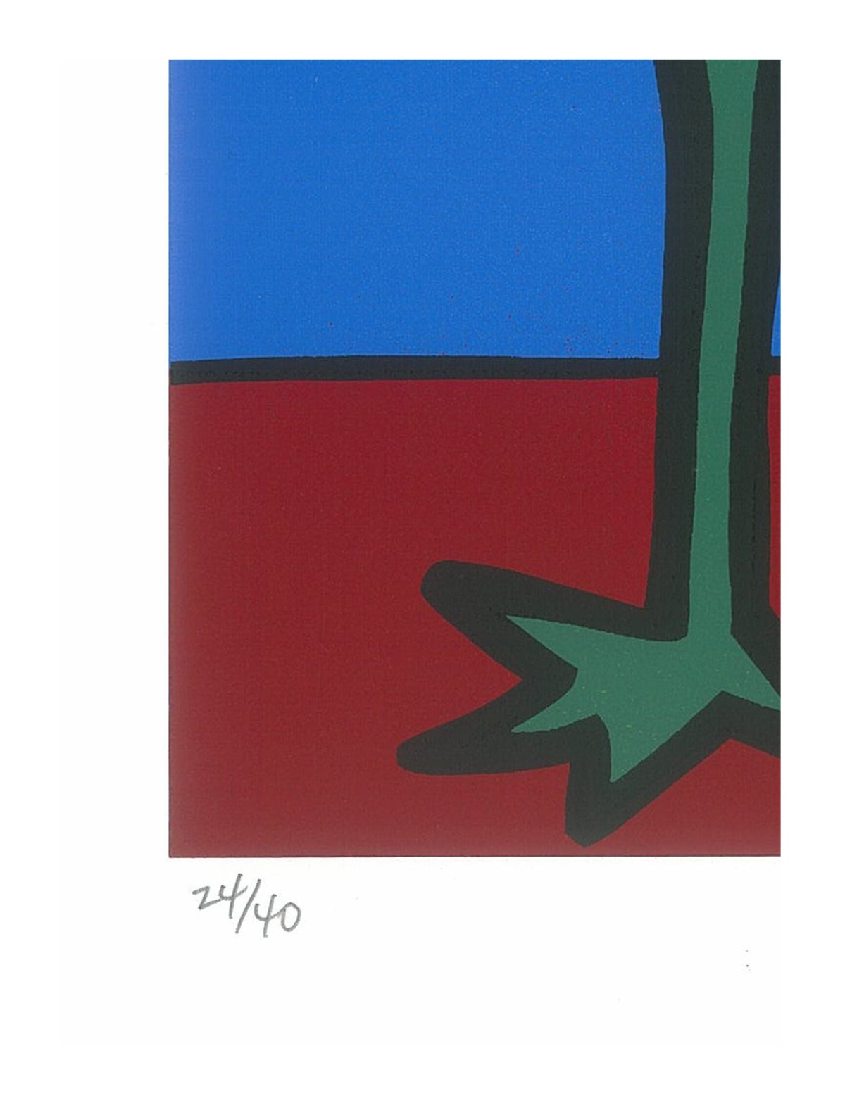 "Image of ""Dancing Dwarf"" (Silkscreen Print)"