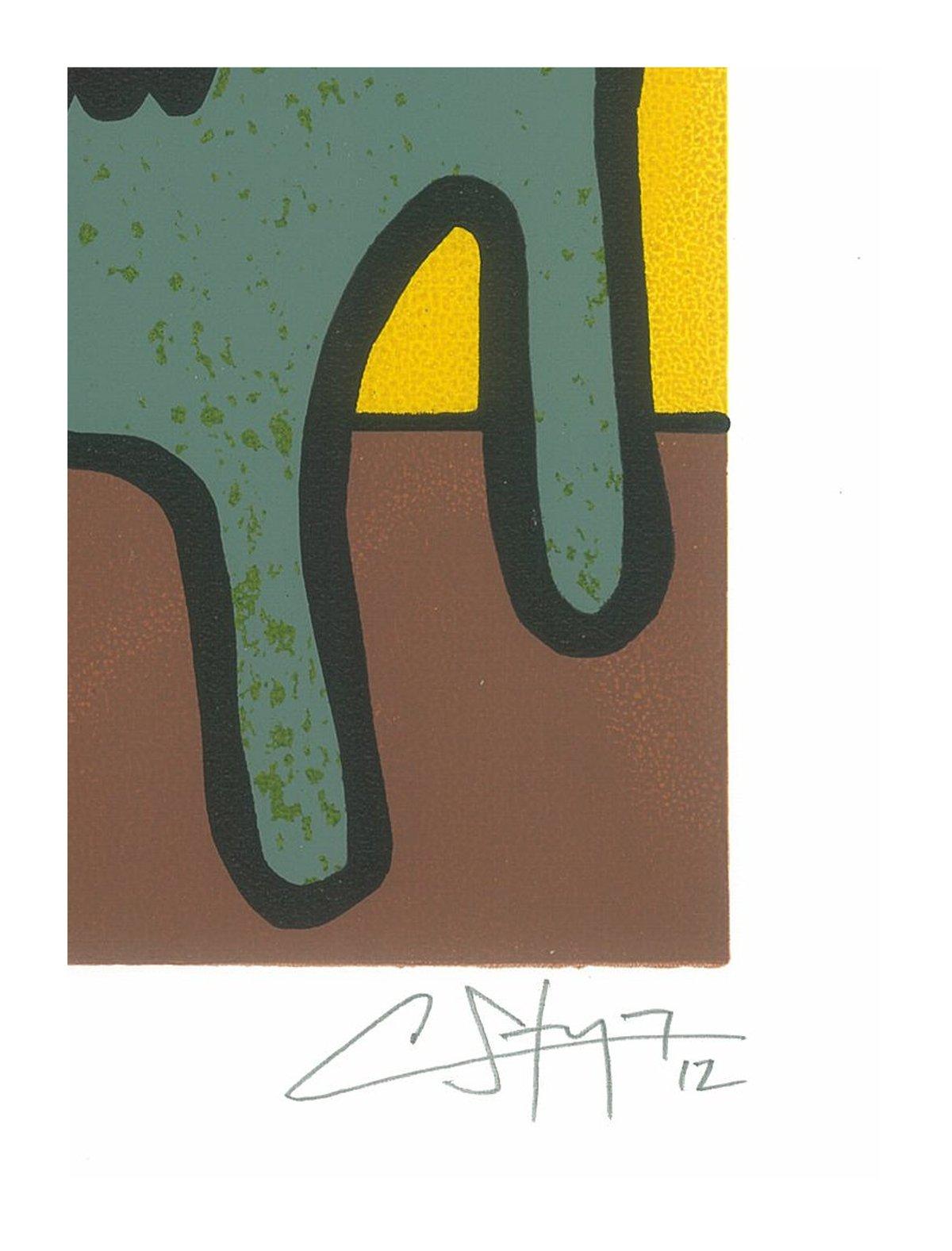 """Image of """"Puerto Rican Terrier"""" (Silkscreen Print)"""